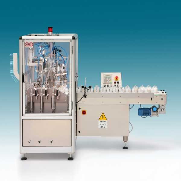 AUTOMATIC FILLING AND CRIMPING MACHINE - LA1