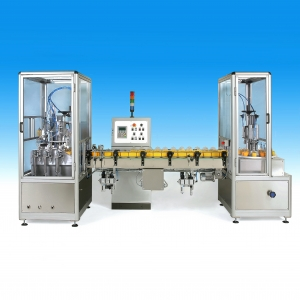 Automatic perfume packaging line LA3